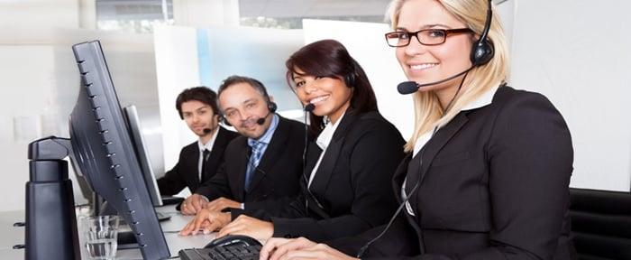 English customer care service